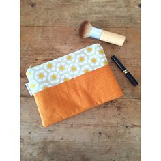 Zipper pouch, make up bag, travel toiletry bag, cosmetics purse, Birthday Gift, by SkinnyMalinkyQuilts on Etsy https://www.etsy.com/uk/listing/270172034/zipper-pouch-make-up-bag-travel-toiletry
