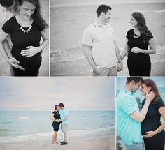 beach maternity photos | Jenna Miller Photography | Hampton Roads, VA