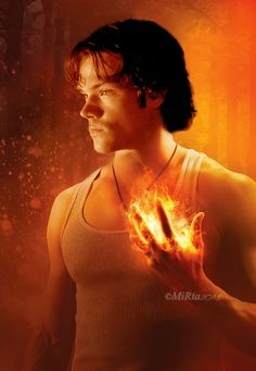 Jared Padalacki AKA... Sam Winchester <3 this fan art no name to give credit too though :/