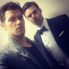 Daniel Gillies and Joseph Morgan