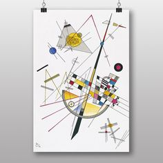 Big Box Art Abstract No.2 by Wassily Kandinsky Graphic Art
