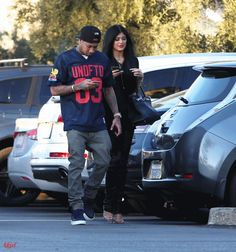 Tygas and Kylie Jenner