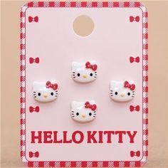 Hello Kitty button set 4 pieces by Sanrio 1