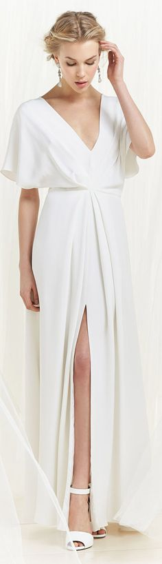 Christian Siriano White Dress
