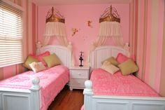 small room for twins Girls - Girls' Room Designs - Decorating Ideas - Rate My Space