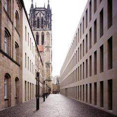 The Diözesanbibliothek in Münster by German architect Max Dudler.