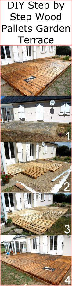wood pallet terrace ideas 16