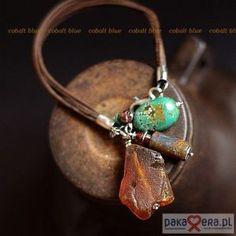 strap III - cobalt blue jewelry ewa lompe author. - Polish website - love this ♥