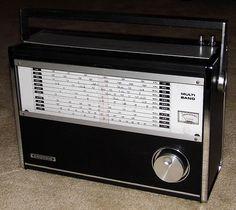 Vintage Grundig Multi-Band Radio, Model TR-807. 11 Bands, Made In Japan.