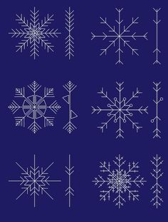 How to Draw Snowflakes Like a Professional - The White Corner Creative (scheduled via http://www.tailwindapp.com?utm_source=pinterest&utm_medium=twpin&utm_content=post117548305&utm_campaign=scheduler_attribution)