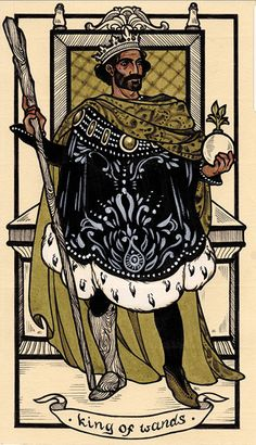 King of Wands King Of Wands, Catholic Art, Botanical Drawings, Angel Art, Tarot Decks, Art Journal Inspiration, Pretty Art, Surreal Art, Famous Artists
