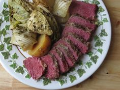 Slow Cooker Corned Beef with Cabbage, Fennel and Potatoes