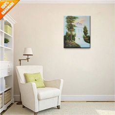 Oil Painting Oil Painting On Canvas, Gallery Wall, Hand Painted, Landscape, Home Decor, Homemade Home Decor, Scenery, Landscape Paintings, Decoration Home