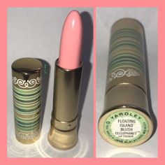 1969 Yardley FLOATING ISLAND BLUSH Cellophanes Lip Colour.  Sold for $116.39 in 2018.