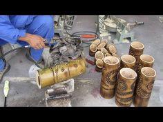 Bamboo Light, Bamboo Lamp, Bamboo Tree, Diy Crafts For Gifts, Home Crafts, Bamboo House Design, Bamboo Structure, Diy Bird Feeder, Bamboo Crafts