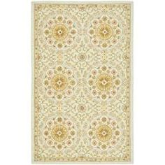 Safavieh Hand-hooked Chelsea Kina Teal Blue Wool Rug - 3'9' x 5'9' - Free Shipping Today - Overstock - 13494564