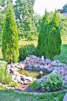 Garden water fountain Outdoor Decor, Garden, Garden Water Fountains, Outdoor, Water, Stepping Stones, Evergreen, Water Garden