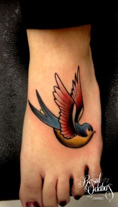 Swallow Tattoo...reminds me of you!