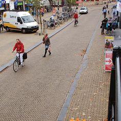 Duurzame zonnige straatbakstenen   Franker