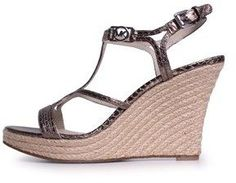 MICHAEL Michael Kors Women's Cicely Espadrille Wedge Sandals.