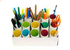 Organize sem frescuras!: Reutilize rolos de papel para organizar, decorar e encantar!