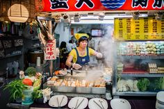 Fish cake vendor. Photo courtesy of Jorge Gonzalez via Flickr.