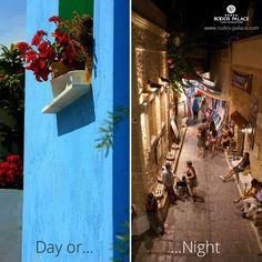 Rhodes: you can't choose! www.rodos-palace.com #rodospalacehotel #rodos #hotel #Rhodes #Greece #lifeinRhodes