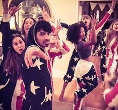 Making onesies cool one event at the time... #Party -Taylor Swift-