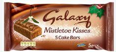 Galaxy Mistletoe Kisses Cake Bars