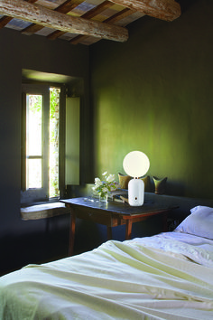The Aballs table lamp designed by Jaime Hayon for Parachilna.