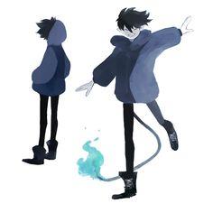 Learn To Draw Manga - Drawing On Demand Ao No Exorcist, Blue Exorcist Anime, Rin Okumura, Mephisto, Anime Boys, Cosplay, Manhwa, Character Inspiration, Character Design