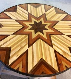 So I think my girlfriend is incredibly talented Table Top Design, Coffee Table Design, Wood Pallet Furniture, Wood Pallets, Woodworking Box, Woodworking Projects, Wooden Wall Art, Wood Wall, Diy Wood Projects