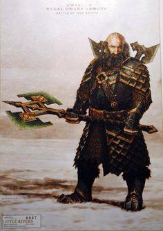 Dwalin's Regal Dwarf Armour