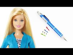How to make a doll pen - doll crafts - YouTube