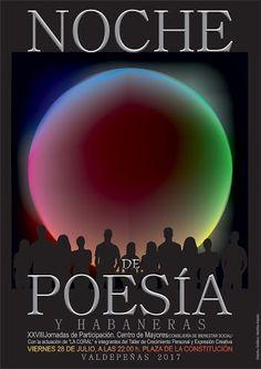 Noche de Poesía y Habaneras - Valdepeñas - Viernes, 28 de Julio de 2017, 22:00 hr. Plaza de la Constitución