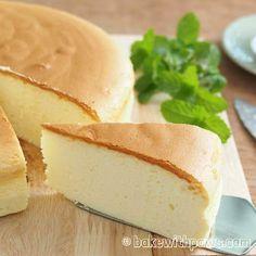 Durian Recipe, Cheesecake Recipes, Dessert Recipes, Baking Recipes, Japanese Cotton Cheesecake, Durian Cake, Chiffon Cake, Asian Desserts, Cake Ingredients