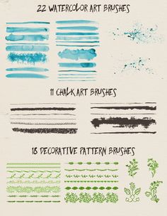 51 Free Vector Brushes « Freebies PSD