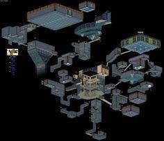 #LegendofZelda Ocarina of Time Level Design via Reddit user CoolAsACucumber