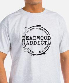 Deadwood Addict Stamp T-Shirt for