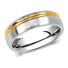 Unisex snubní prsten L´amour z chirurgické oceli RC2129 velikost 50