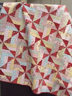 PARIS FLEA MARKET by myreddoordesigns on Etsy, $100.00 finished quilt