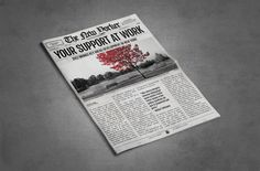 Page Newspaper Template Adobe Indesign X Inch  Adobe