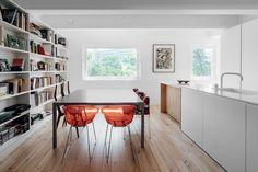 B.A. Apartment Minimalist Apartment Interior Design, Greenery Architects: Atelier Data Photographer: Richard John Seymour Location: Lisbon, Portugal