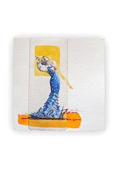 Volantes Azul - Flamenca