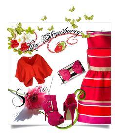 """Sweet Spring Dresses"" by kari-c ❤ liked on Polyvore featuring Lanvin, Vionnet, Betsey Johnson, Oscar de la Renta and springdress"