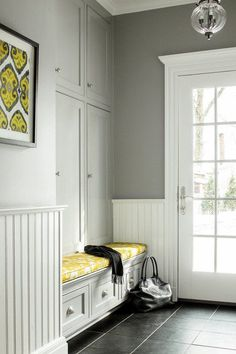 6 Amazing Cool Tips: Painted Wainscoting Stairs wainscoting styles entryway. Wainscoting Height, Wainscoting Nursery, Painted Wainscoting, Wainscoting Bedroom, Dining Room Wainscoting, Black Wainscoting, Wainscoting Ideas, Nest Design, House Design