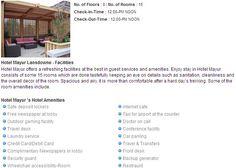 Mayur hotels lansdowne hotels and room facilities.