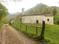Chiesetta in Val di San Martino Feltre Belluno Dolomiti Veneto Italia by Alfeo de Martini