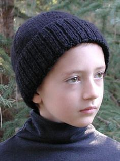 Free knitting pattern for a kids 8ply striped beanie knitting to fit head sizes smallmediumlarge 19 20 dt1010fo