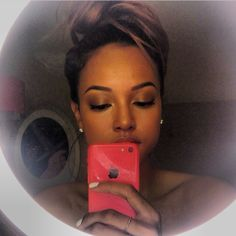 Great eyebrows babe! @Karrueche Tran Tran  With brows by Chantellexo ❤️ - @chantellexo__- #webstagram